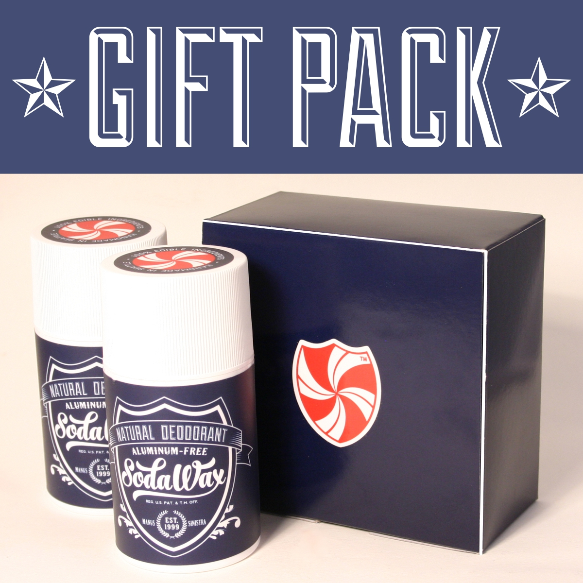 Gift Pack *Pick Any Two SodaWax Scents* (2×3.3oz/96g)