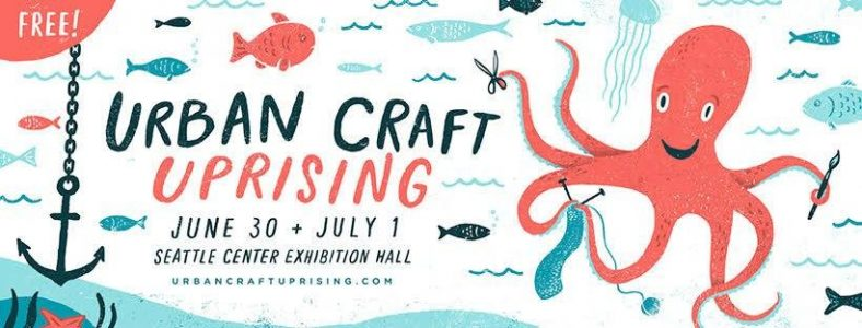Check out our booth at the Urban Craft Uprising Summer Show this weekend!