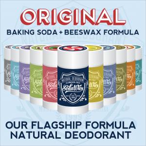 Aluminum-Free Original Flagship Formula Natural Deodorant by SodaWax™